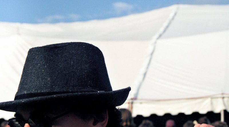 man in fedora