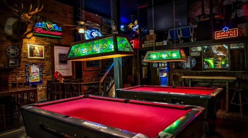 Dive Bar With Pool Tables