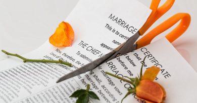divorce marriage certificate cut