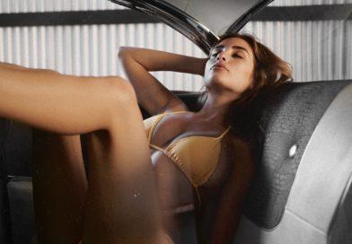 Ella Orten Bikini Backseat