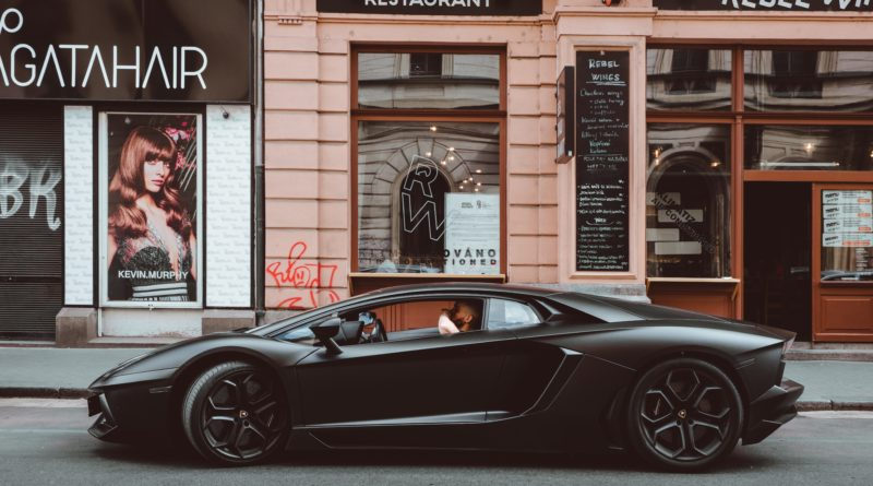 black lamborghini buy